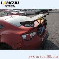 Fit for Toyota GT86 BRZ carbon fiber rear spoiler rear wing