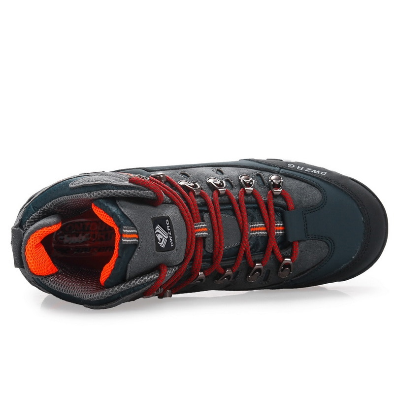Купить с кэшбэком Men Outdoor Sports Hiking Boots Waterproof Wear Resisting Trekking Shoes Mountain Climbing Classic Footwear New Man Sneaker Boot
