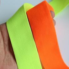 SICODA-bracelet élastique vert néon   Caoutchouc, 10 mètres, pour danse en boîte de nuit, accessoires de vêtements, bricolage