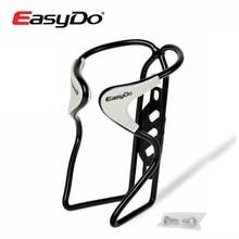 Easydo Aluminium Ultraleicht Gummi Matte Road MTB Bike Fahrrad Radfahren Wasser Flasche Käfig Halter Mit Schrauben 3 Farben Zubehör