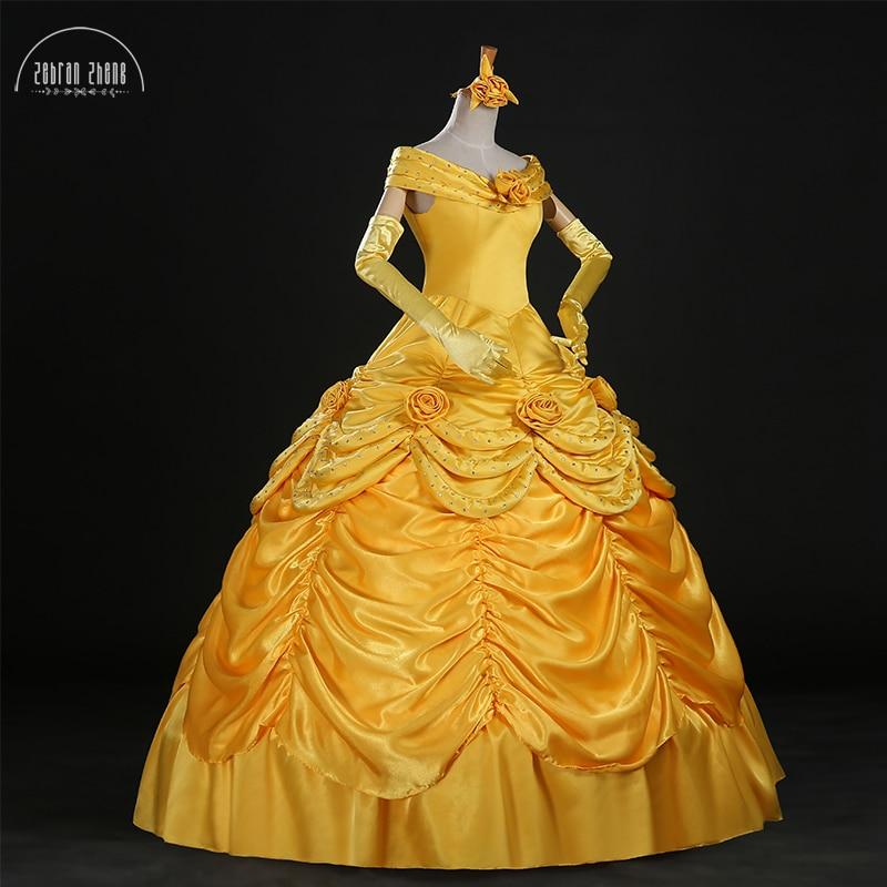 فستان الأميرة حسناء عالي الجودة فاخر كريستال تأثيري فستان مُصمم حسب الطلب للنساء هالوين