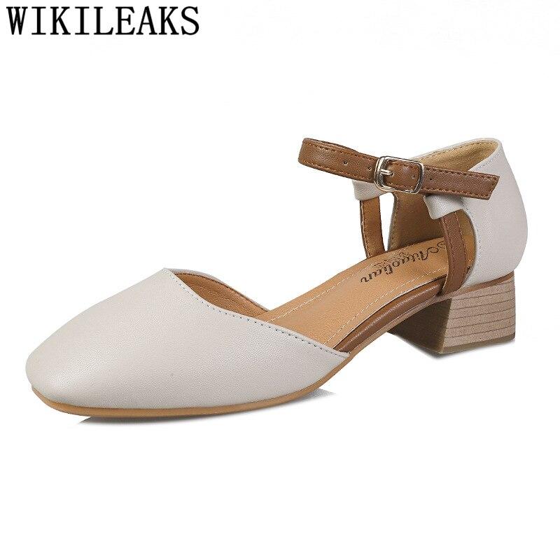 Zapatos De tacón alto Zapatos Mary Jane Para mujer, calzado De boda,...