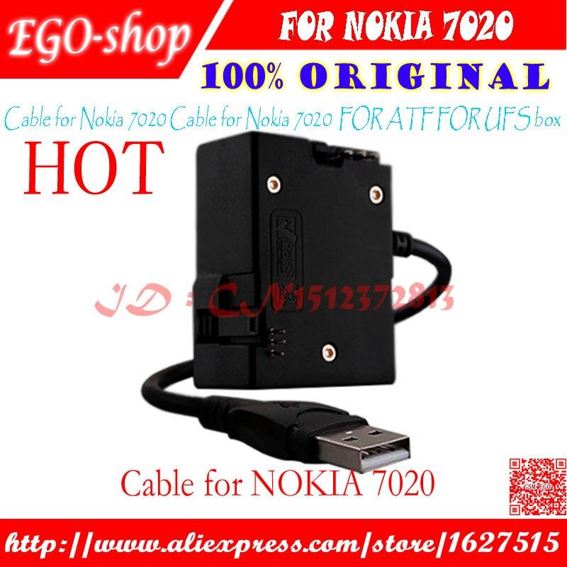 Cable de envío gratis gsmjustoncct para nokia 7020, cable para caja ufs para caja atf