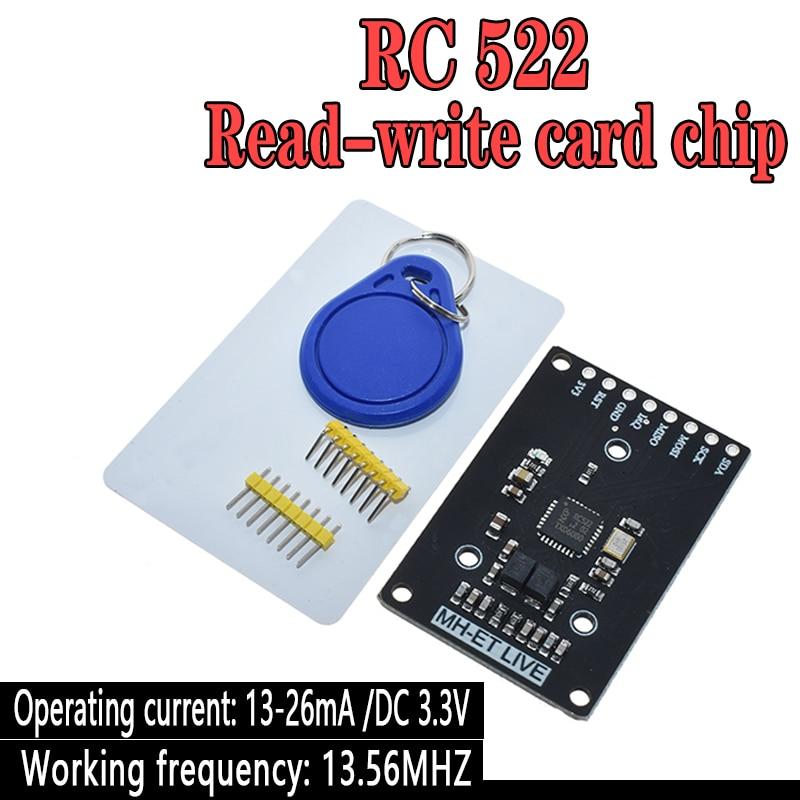 Мини RFID модуль RC522 наборы S50 13,56 МГц 6 см