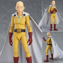 Anime One Punch Man Saitama Figma 310 PVC Action Figure Collectible Model Toys Verjaardagscadeau 14cm
