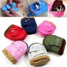 THINKTHENDO Fashion przenośny plecak portmonetka portfel ręczna sakiewka torebka dla kobiet Lady prezent dla mężczyzny