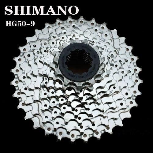 Shimano Deore piñón de cassette CS-HG50-9 velocidad 11T 32 T/11 T-34 T MTB
