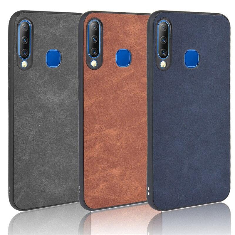 Para Infinix Smart 3 Plus borde suave TPU piel de oveja PU funda de teléfono de cuero para Infinix Smart 3 Plus infinix X627 X627V