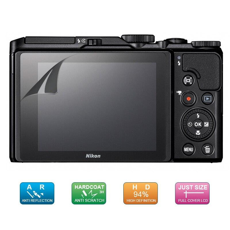 (6 шт., 3 упаковки) Защитная пленка для ЖК-экрана для Nikon Coolpix A1000 A900 P1000 B500 A300 A100 A10 S3700 S2900 S3600