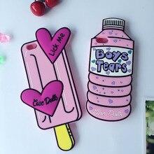 Fall Puppen Flasche für iPhone 5 5s 6 6s Plus 7 8X4 s 4 SE XR XS Max 11 Pro Max Fall Lecken Mich Jungen Tränen Popsicle Telefon Zurück Abdeckung