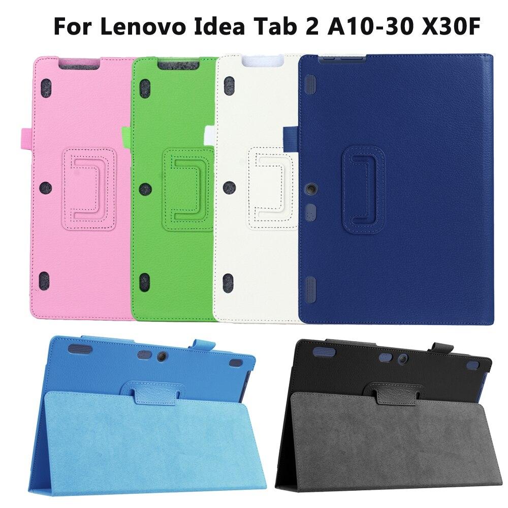 Viviration レノボ A10-30F TB2 X30L X30F タブレット 10.1 ケーススマートハード Pu レザーパラレノボタブ 2 A10-30 タブ