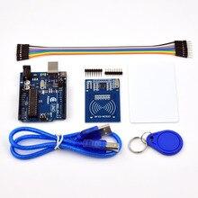 Adeept New Arduino UNO R3 con RC522 lector RFID Kit manual de usuario para Arduino envío gratuito diy diykit