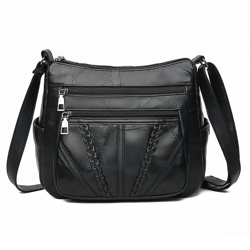 Women Shoulder Bags Genuine Leather Female Bags For Ladies Crossbody Bags Luxury Designer Handbag High Quality New