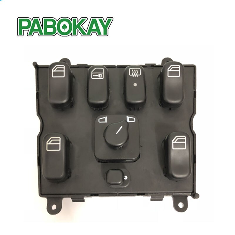 Interruptor maestro de ventanas 1638206610 para mercedes-benz W163 ML320 ML430 A 03751566