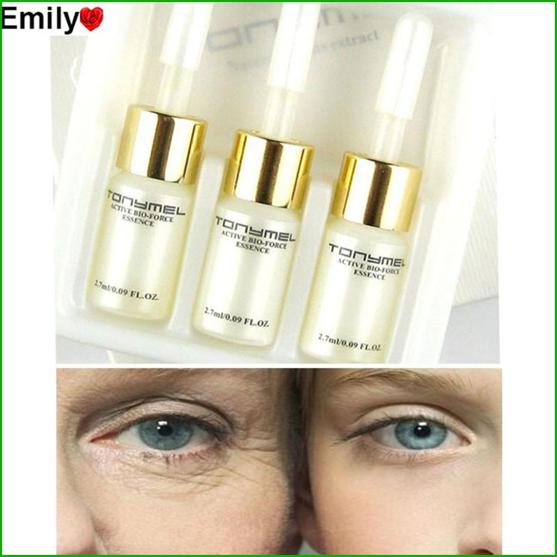 moisturizers deep hydration face cream anti aging anti wrinkles whitening wrinkle removal face cream Hyaluronic Acid Serum Anti-Aging Whitening Essence Anti Wrinkle Collagen Skin Face Care Cream 3 PCS