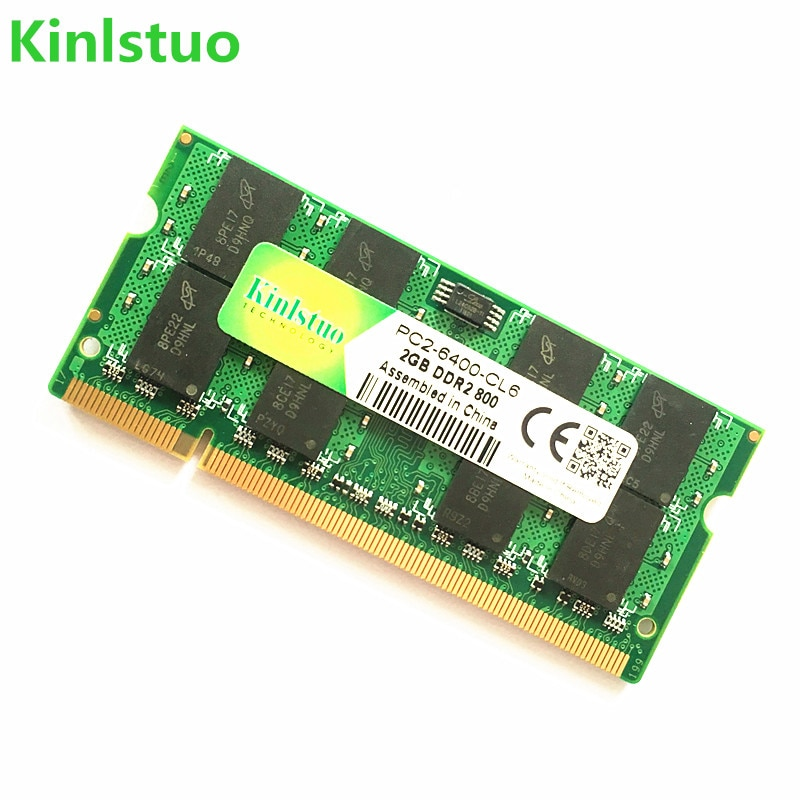 Kinlstuo-Sodimm DDR2 para ordenador portátil, 667Mhz/ 800Mhz/533Mhz, 1GB, 2GB, 4GB, memoria RAM,...