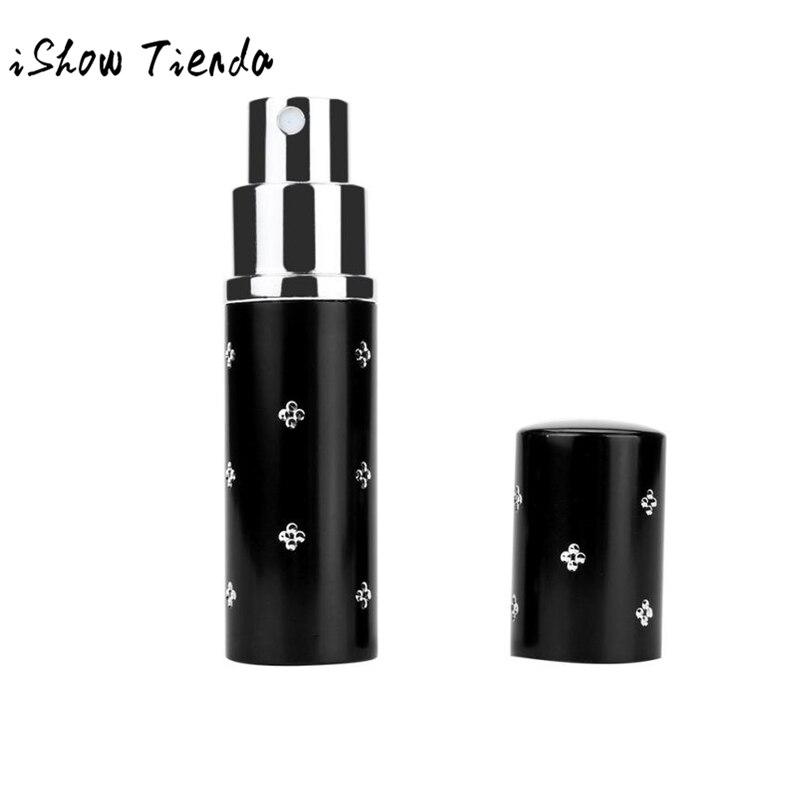 Mini atomizador para botella de perfume de viaje portátil de 10ml para perfume en aerosol funda de bomba vacía de perfume con Mini botella de almacenamiento colorida