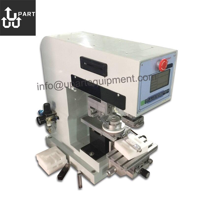 Máquina de impresión de almohadilla semiautomática de 1 color para escritorio china