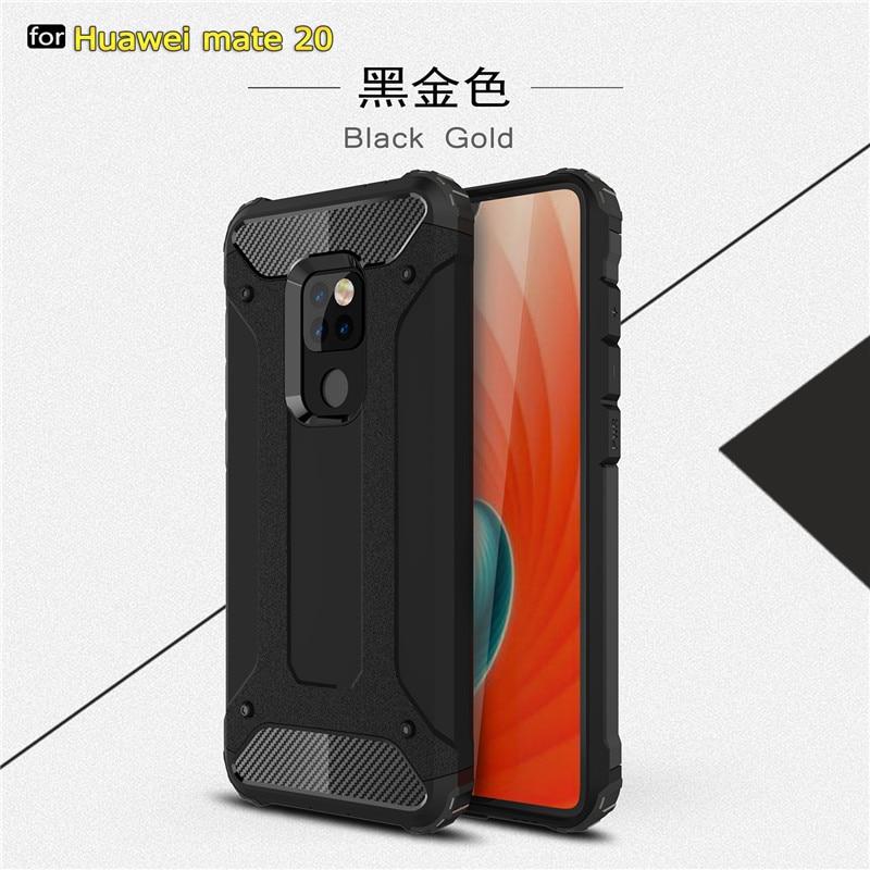 WolfRule Huawei Mate 20 Case Anti-knock Soft Silicone + Plastic Case For Huawei Mate 20 Case For Hua