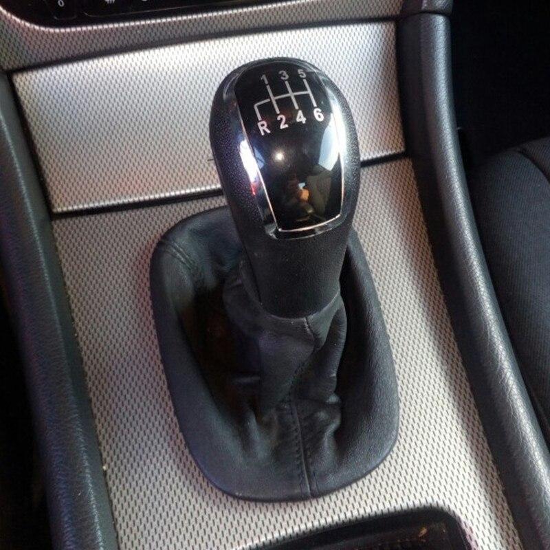 Черная крышка рычага переключения передач Newbee, крышка ботинка для Mercedes Benz C-Class W203 S203 / W202 BJ (93-01)/ A-Class W168 (97-04)
