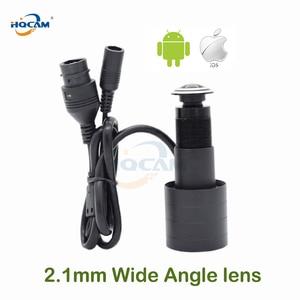 1080P HD Indoor Door Eye Hole Color IP Home Security Camera 110degrees Surveillance Network Vedio Support Onvif XMEYE ICSEE