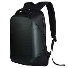 New-dc 5V Led affichage dynamique Wifi sac à dos ordinateur portable ordinateur portable contrôle 22L sac décole Led étanche sac à dos sac pour la publicité