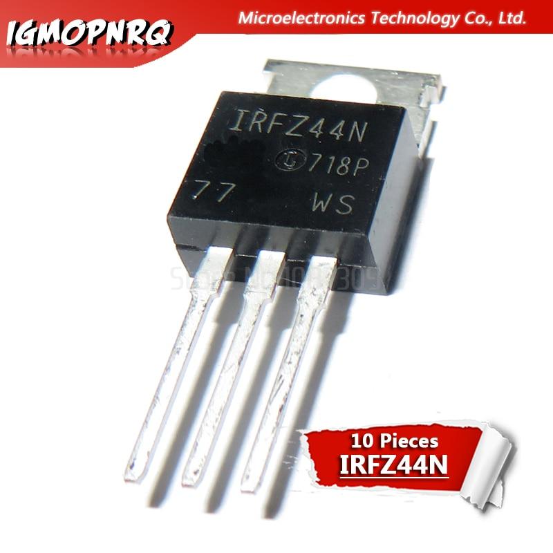 10 stücke IRFZ44N IRFZ44 IRFZ44NPBF MOSFET MOSFT 55V 41A 17,5 mOhm 42nC ZU-220 neue original