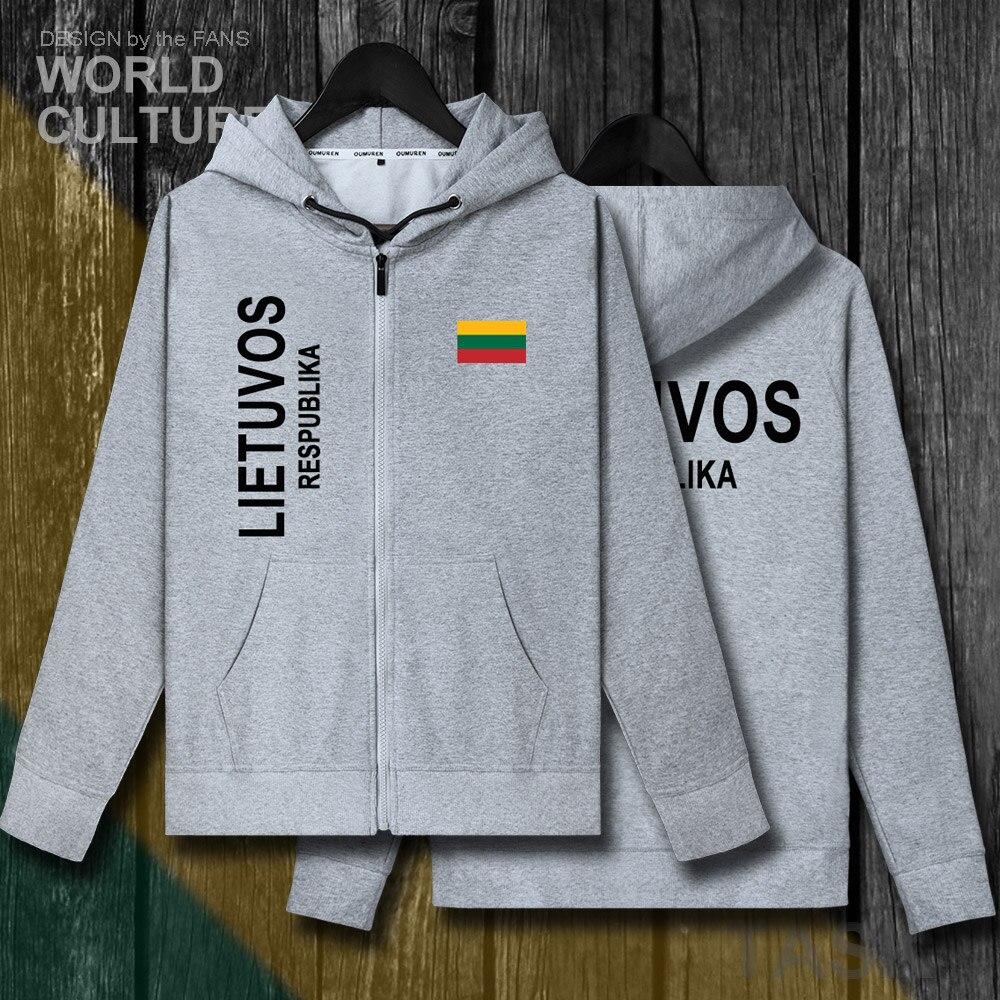Lituania lituano LTU Lietuvos va pulg. Sudaderas con capucha para hombre, jerséis de invierno, chaquetas para hombres y chándal de abrigo, cárdigan, ropa