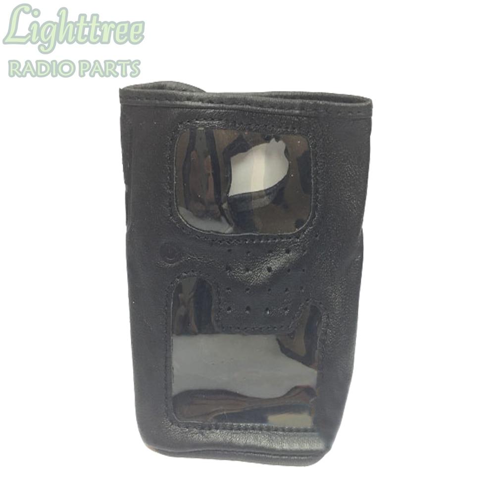 5X Leather Case Holster For Vertex VX-6R VX-7R Walkie Talkie