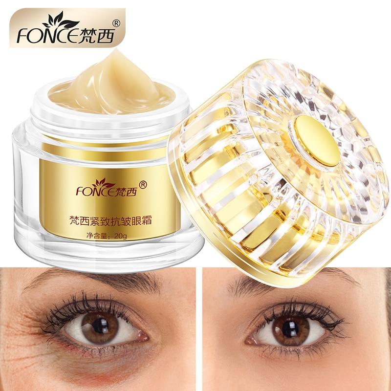 Korea Skin Care Lighten Dark Circles Eye Cream Treatment Eye Bag Moisturizing Firming Serum Day Night Cream eye mask patc