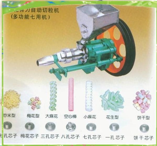 Máquina de inflado de maíz de 15-20kg por hora, máquina de arroz inflado