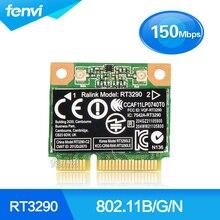 150 mbps 2.4 ghz ralink rt3290 802.11b/g/n sem fio wlan wifi + bluetooth bt 4.0 meio mini cartão pci-e para hp cq58 m4 m6 4445 s dv4