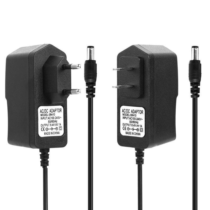 DC 8,4 V 1A/4,2 V 1A/21V 2A/16,8 V 1A/8,4 V 2A /12,6 V 1A/8,4 V 2A 18650 Lithium-Batterie Ladegerät Adapter Power Lade Adapter