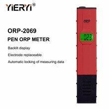 Yieryi 100% nouvelle marque ORP-2069 LCD numérique Type rouge stylo testeur quantité deau testeur de piscine ORP mètre pour générateur dhydrogène