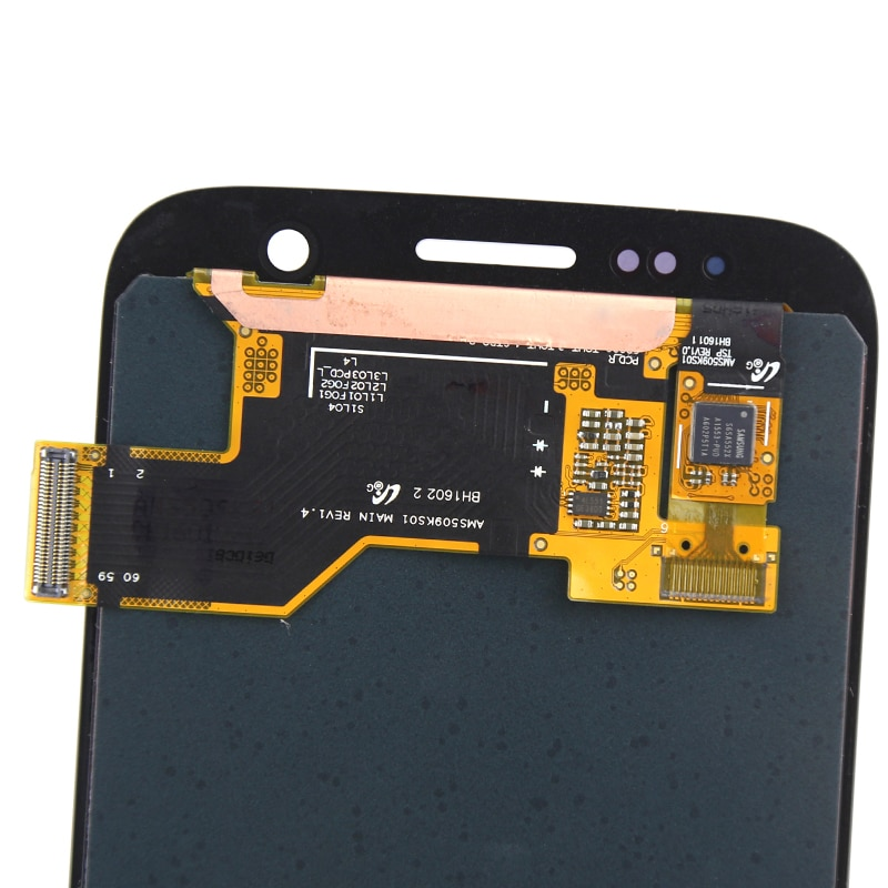 Super AMOLED LCD For S7 LCD Dispaly With Touch Screen Assembly For G930 G930F G935A G930V LCD Screen enlarge