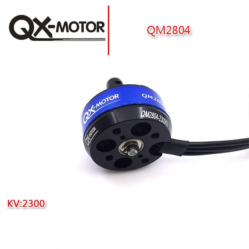 QM2804 2204 2300KV Motor sin escobillas QX-MOTOR para Mini QAV210 QAV-R 220 ZMR250 robocat 270 280mm Quadcopter