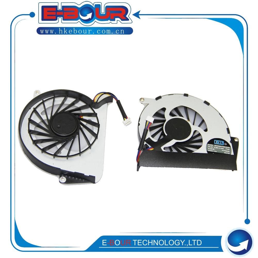 Envío gratis 10 piezas ventilador de CPU para Lenovo Y460 Y460A Y460C enfriador de CPU ventilador portátil ventilador de refrigeración de la CPU