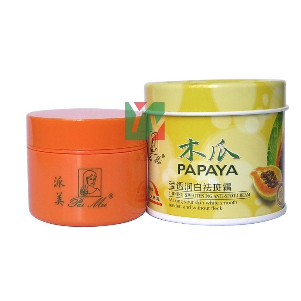 Papaya brillante y blanqueador crema antimanchas 30 g/unidad 12 unids/lote