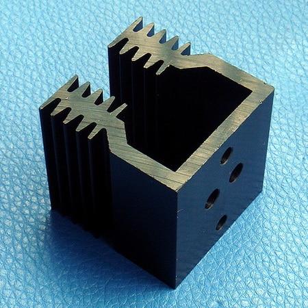 ( 4 pcs/lot ) Heatsink, Aluminum Heat-Sink, For TO-3 Transistors.