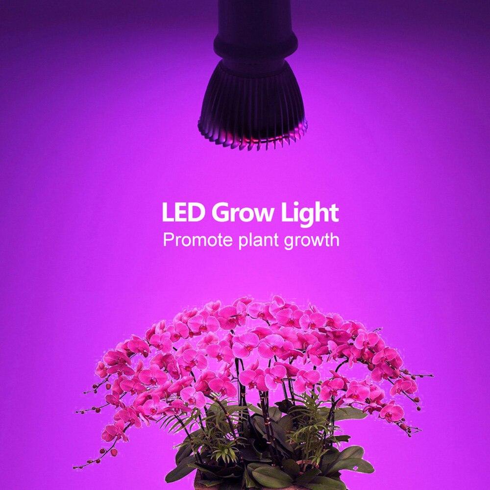 2835 5730 Chip LED Luz de cultivo espectro completo rojo/azul/blanco/UV/IR 5W 6W 12W 15W 18W 28W lámpara de acuario para planta de interior flor