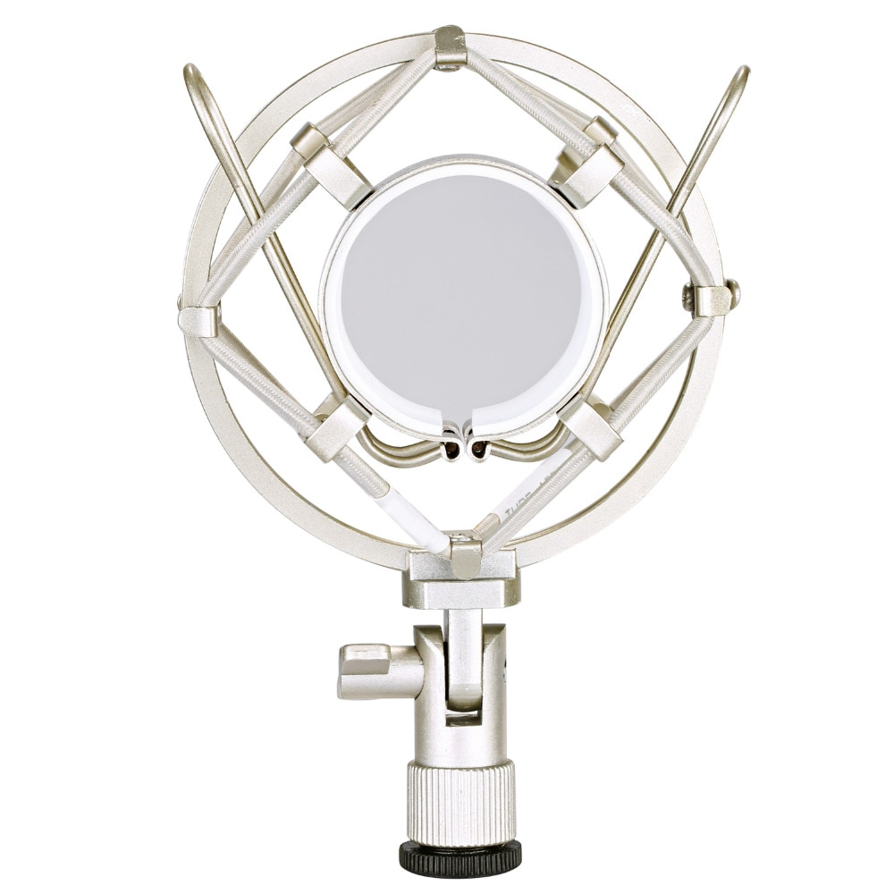Neewer Microphone pince de support de montage Anti-Vibration Isolation pour micro de condensateur de Studio, Studio de radiodiffusion Radio
