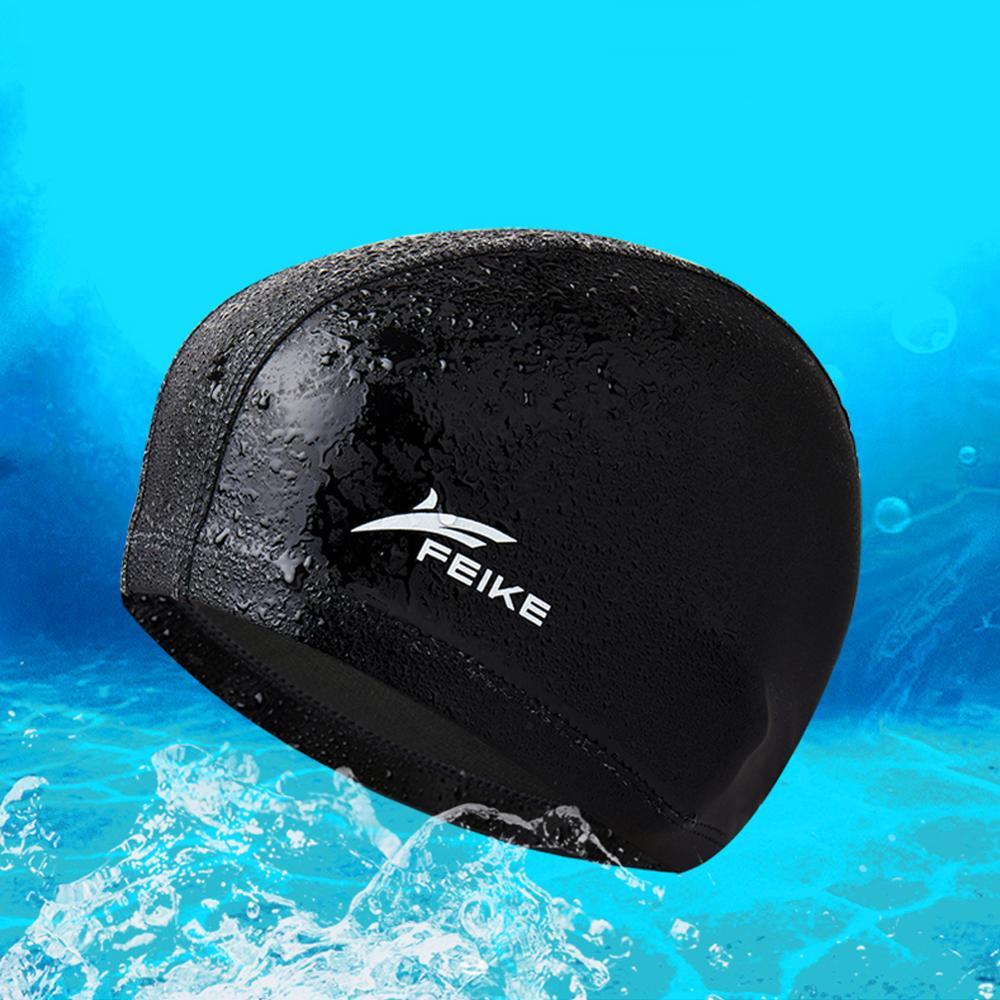 Tela de la PU Multi-estilo gorro elástico gorro impermeable para natación pelo natación al aire libre natación Accesorios