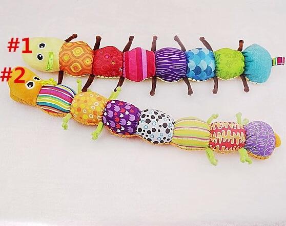 Лучший подарок на день рождения 1 шт. Музыкальные Развивающие детские игрушки Inchworm, музыкальные мягкие плюшевые детские игрушки TOP19