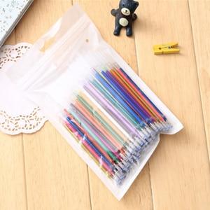 100 Pcs/pack New Colors Gel Ink Pen refills graffiti school office supplies Cartoon painting sketch color gel pen ink