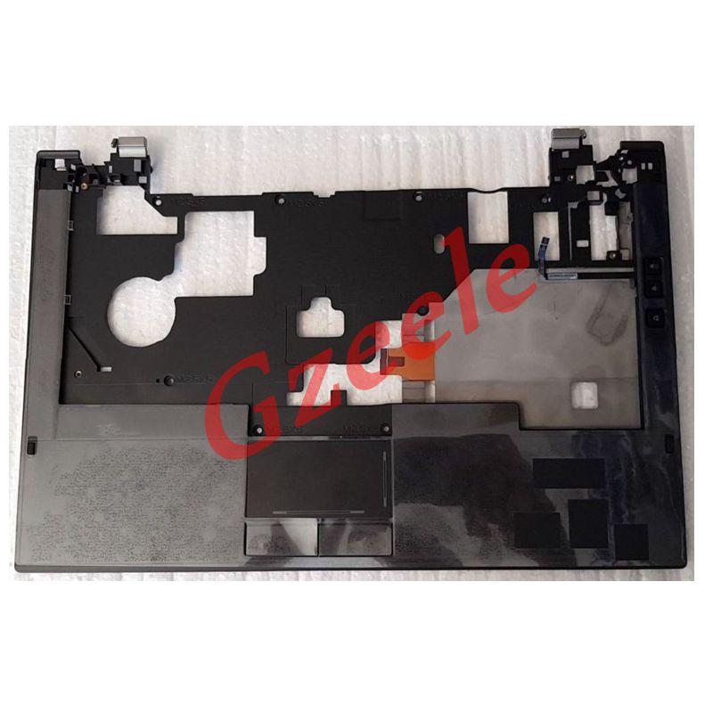 ¡Nuevo! Carcasa superior GZEELE para Dell Latitude E4310, reposamanos Trackpad 2CM09 02CM09 KJRRN 0KJRRN teclado bisel con touchpad