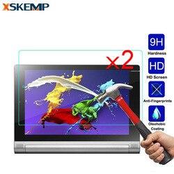 "XSKEMP 2 Pçs/lote HD Filme Protetor de Tela de Vidro Temperado Para Lenovo Ideatab A7600 10.1 ""A10-80 A7800 A5000 A3000 A3300 A7-30 Tab2"