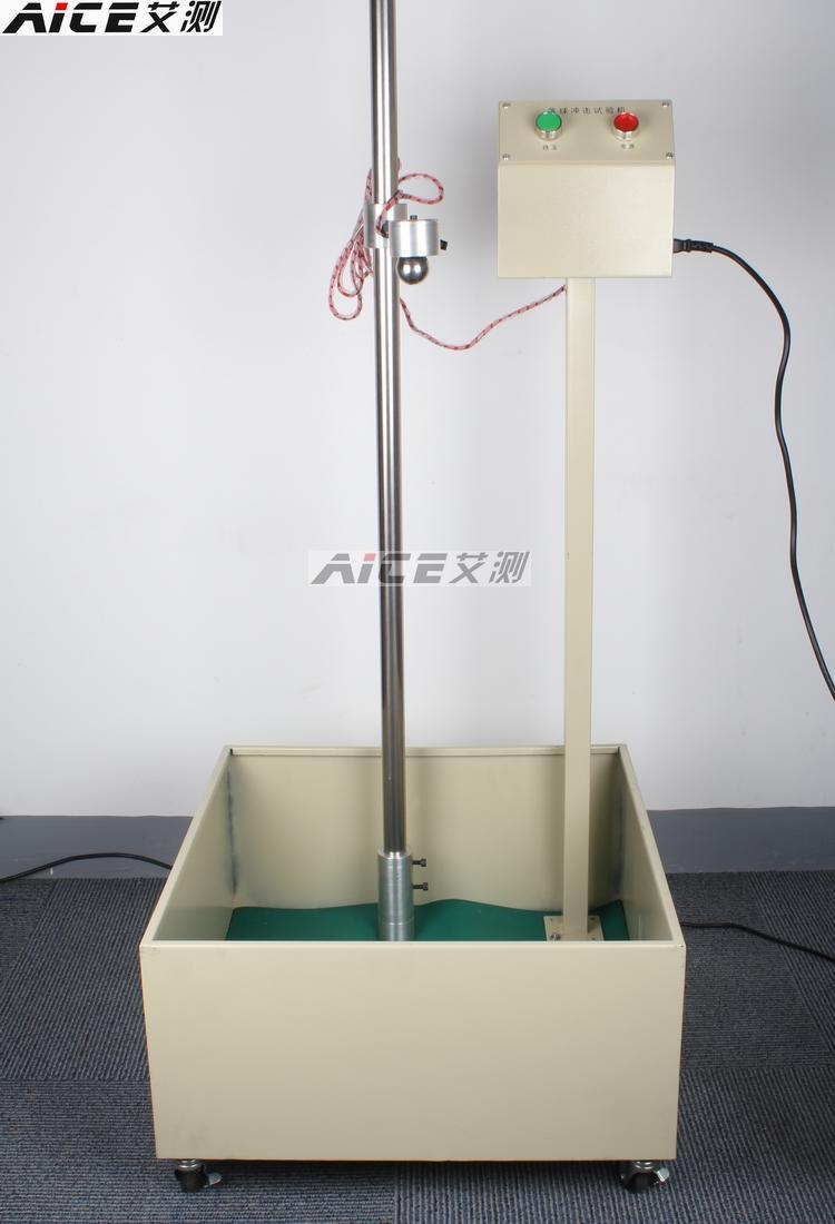 (Bola cair impacto tester) A5430, JIS-K6745 plástico, cerâmica, vidro