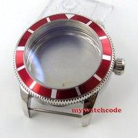 46mm 316L stainless steel rose golden Watch Case fit ETA 2824 2836 MOVEMENT89