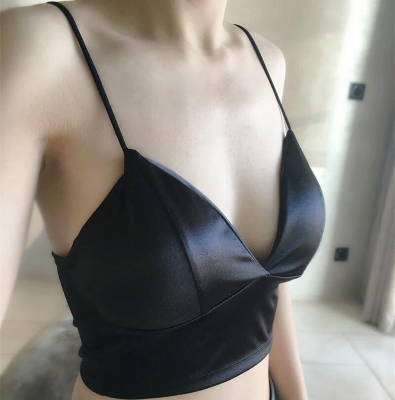 GUMPRUN Small Straps Sexy Lingerie Comfort Bra Wire Free Underwear Women Summer Bras For Women Soutien gorge Seamless Bralette