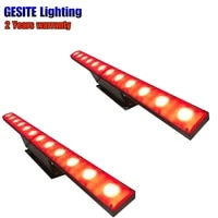 2pcslot 14x3w rgb 3in1 led wall washer lights running function
